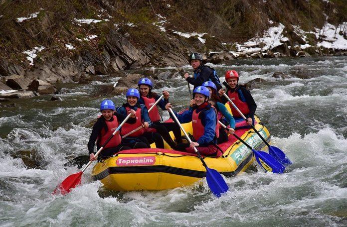 excursie rafting